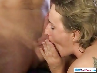 chubby grownup hungarian blond milf licks cock