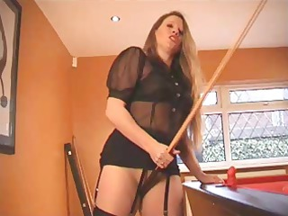 american milf fay is dressed to copulate and is