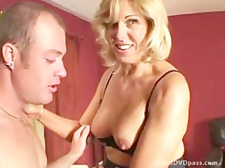 naughty bleached milf