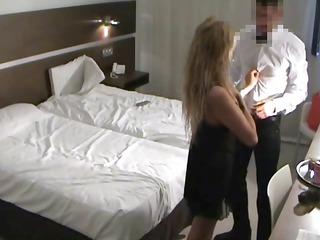 spy mature babe fucks quarters service boy