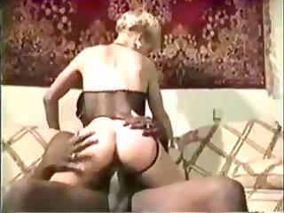 bleached lady black penis