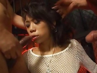 dirty japanese woman throated by the prisoners